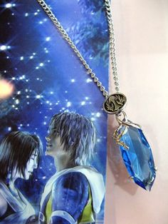 Final Fantasy Tifa Tidus Necklace FFNL2632 | 123COSPLAY | Anime Merchandise Shop Free Shipping From China | Anime Wholesale