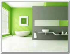 Green Bathroom Fresh Bathroom Green Paint Color Scheme Interior With Round Light Green Bathroom Ideas Green Bathroom Images Bathroom Green Bathroom Flooring Ideas. Green Floor Paint, Green Painted Walls, Mint Green Walls, Bright Green, Gray Green, Fresh Green, Light Green Bedrooms, Bedroom Green, Lime Green Bathrooms