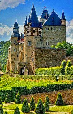 Burresheim Castle in Germany