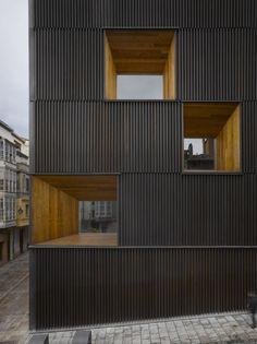Museo BIBAT en Vitoria, España (Mangado y Asociados) - Ganador de los Premios 2009.