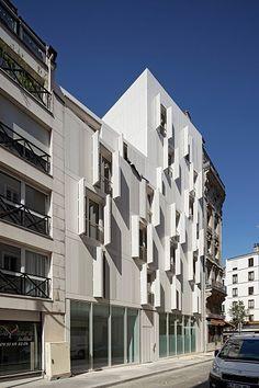 Résidence sociale de 25 logements à Paris - Projectiles