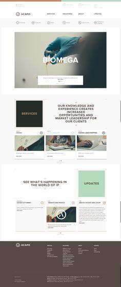 Acapo.no #web #webdesign