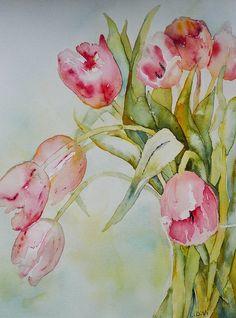 Tulipes roses de LInda Virio