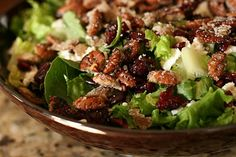 Great recipes for salads and homemade dressings
