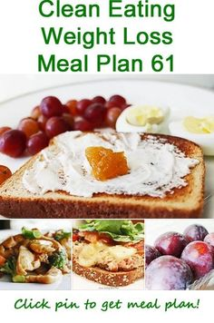 Click pin for today's clean eating weight loss meal plan, with easy healthy recipes and clean eating ideas. #cleaneating #cleaneatingdiet #cleaneatingrecipes #healthyrecipes #weightlossmealplans by randi