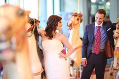 A photo of a wedding at Please Touch Museum at Memorial Hall