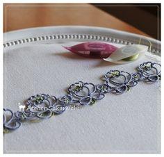 タティング お花のブレード。 : タティングレース便り ~アトリエ さかみち~