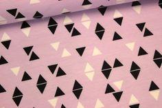 Sweat - Triangles in Lavendel - Andrea Lauren von alles-fuer-selbermacher auf DaWanda.com
