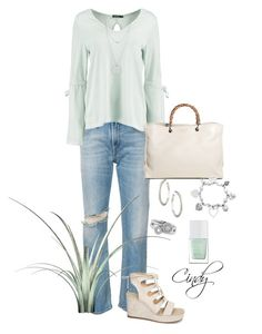 """Spring & summer"" by cindy32tn on Polyvore featuring R13, Boohoo, Wallis, Gucci, ChloBo, Shoreditch, Botkier and The Hand & Foot Spa"