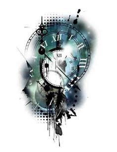 Clock tattt