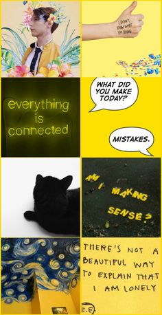 """""""Everything is connected."""" - Dirk Gently."""