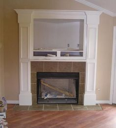 Mantel height 8 foot ceiling