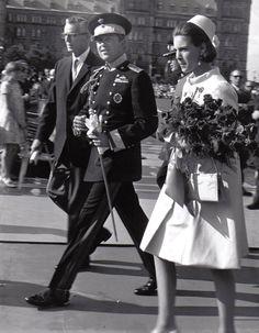 Królewski Styl: King Constantine and Queen Anne-Marie