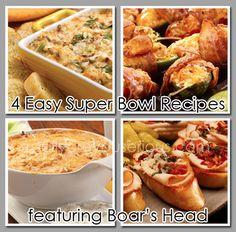 4 Easy Super Bowl Recipes