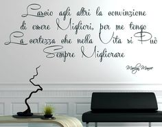 Tumblr Quotes, Wise Quotes, Italian Quotes, Book Markers, Good Thoughts, Wall Stickers, Favorite Quotes, Quotations, Wisdom