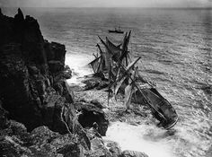 The Hansey Shipwreck at Housel Bay, 1911 - found on fb