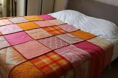 felted bed cover