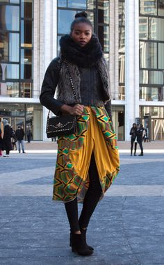 Elizabeth Savetsky from Street Style at New York Fashion Week Fall 2015 | E! Online