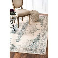 nuLOOM Oriental Vintage Viscose Persian Ivory Area Rug (5'2 x 8')  http://www.overstock.com/9595514/product.html?CID=245307
