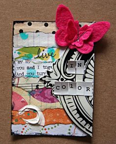 "** ""Live In Color"" ATC /wendyrago/"