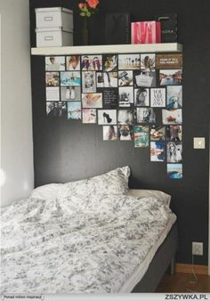 photos on the wall