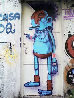 door painting by 'cranio'