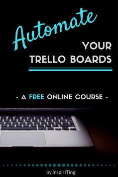 Everything you need to know to get started with Butler for Trello | Ever wondered how you can assign automatic prompts and actions to your cards and lists in Trello? Tracking tasks and running chores wasn't possible until now. But with Butler for Trello, it is! In this free online course I am giving you an introduction into Butler for Trello. | *Repin* & click the link to read what the course is about, and how it will help you. #Free #Trello #Automation #Workflows #OnlineCourse