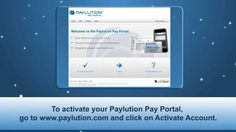 Paylution Pay Portal - Account Activation