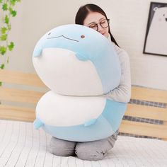 Huge Adorable Cut Japanese Animation Sumikko Gurashi Super Soft Plush Toy San-X – Baby Waves Big Plush, Cute Plush, Cute Pillows, Baby Pillows, Plush Pillow, Bitty Baby, Monster High Barbies, Trippy Hippie, Valentine Gifts For Girls