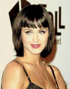 Bob Hairstyles with Bangs 2013