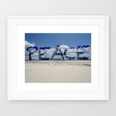 Clearly+At+Peace+Framed+Art+Print+by+Jaymee+-+$35.00