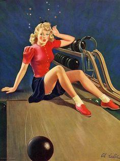 Mutig Bowlingkugel & Tasche 50er 60er Vintage Usa Lucky Strike Retro Rockabilly Bowlen Weitere Sportarten Sport