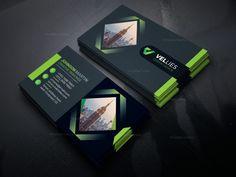Andorra Stylish Business Card Design Template 001633