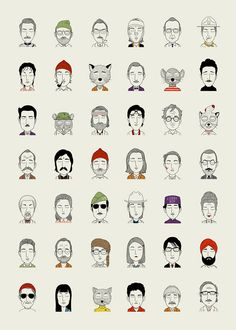 http://www.picamemag.com/the-characters-of-wes-anderson/