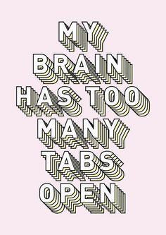 too many tabs //