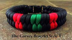 RBG Paracord Bracelet Style 3