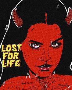 ♡ LDR ♡ Lana Del Rey ♡ ART ♡ #LDR #LanaDelRey #Lana_Del_Rey