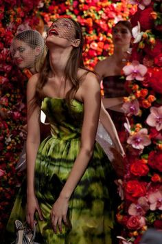 Garden couture at Dior - The House That Lars Built