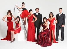 Keeping Up with the Kardashians -a reality TV show that I am awfully dedicated too!