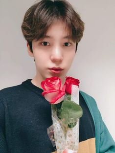 """"""" ꒰ 𝑬𝑵𝑮 𝑻𝑹𝑨𝑵𝑺 ꒱ ⏳ 200314 💬 [📷] Our White day only goes with flowers🌷 V LIVE Behind Photo Eight bouquets of flowers made for ATINY on White day💐💕 Thank you for joining us in today's VLIVE🍭🍬 Nct, Jung Woo Young, Jung Yunho, White Day, Korean Boy, Rca Records, V Live, Kim Hongjoong, Seungri"""