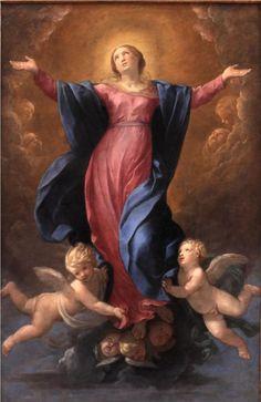 Assumption of the Virgin, 1580 - Guido Reni