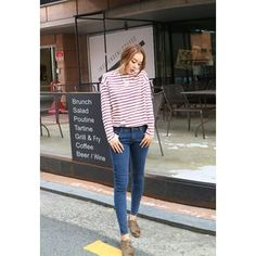 Buy 'BBORAM – Washed Skinny Jeans' with Free International Shipping at YesStyle.com. Browse and shop for thousands of Asian fashion items from South Korea and more!