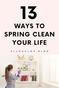 13 ways to spring clean your life. The best tips for spring cleaning your life a. - 13 ways to spring clean your life. The best tips for spring cleaning your life and detoxing. Spring Cleaning Checklist, Weekly Cleaning, Cleaning Day, Deep Cleaning Tips, House Cleaning Tips, Cleaning Hacks, Cleaning Lists, Cleaning Schedules, Cleaning Closet