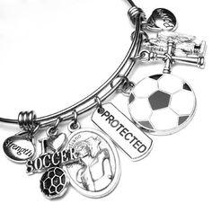 Soccer Athletes Patron Saint St. Sebastian Catholic Holy Medal St Sebastian, Patron Saints, Athletes, Catholic, Soccer, Trending Outfits, Unique Jewelry, Bracelets, Handmade Gifts