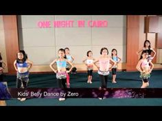 Kids' Belly Dance Choreography - YouTube
