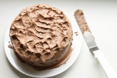 Eat Fat, Be Thin - Traditional Chocolate Cake