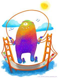Jumpin' ©2012 Brenna Lindblad  brennal.com