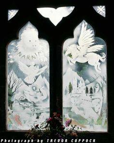 Narnia window by Trevor Coppock