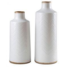 Signature Design by Ashley Kaelem Antique White Vase Set of 2... (2.225 RUB) ❤ liked on Polyvore featuring home, home decor, vases, cream vase, ceramic vase, ceramic home decor, signature design by ashley and antique white vases