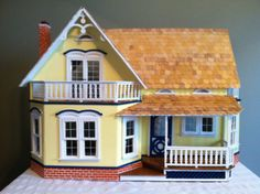 Hey, I found this really awesome Etsy listing at https://www.etsy.com/listing/161648594/beautiful-wood-dollhouse-with-4-large